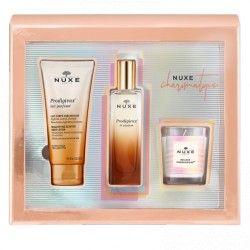 NUXE Coffret Charismatique PARFUM PRODIGIEUX + Lait parfumé ET bougie offerts