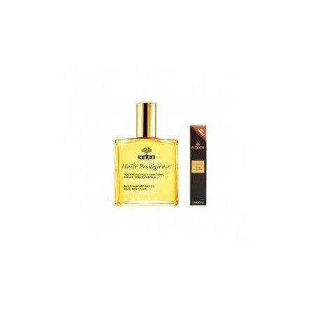 NUXE Huile prodigieuse Flacon de 100 ml + parfum prodigieux 1.2 ml offert