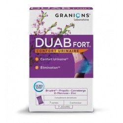 GRANIONS DUAB Fort Confort urinaire Boite de 7 sachets