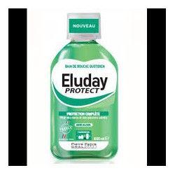 ELUDAY Protect Bain de bouche quotidien sans alcool Flacon de 500 ml