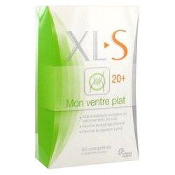 XL-S Mon ventre plat 20 + Boite de 30 comprimés