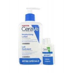 CERAVE Lait hydratant peaux sèches à très sèches Flacon de 236 ml