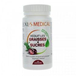 XLS MEDICAL Réduit les graisses + sucres Boite de 120 comprimés