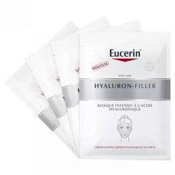 EUCERIN HYALURON-FILLER Masque intensif à l'acide hyaluronique Boite de 4