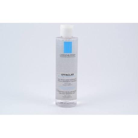 LA ROCHE POSAY EFFACLAR Eau micellaire purifiante Flacon de 200ml
