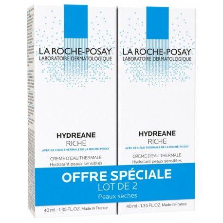 LA ROCHE POSAY Hydreane Riche + eau thermale offerte