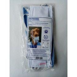 Masque de protection en tissu réutilisable Lot de 2