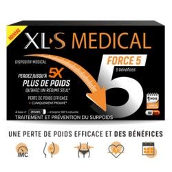 XLS MEDICAL FORCE 5 Boite de 180 gélules
