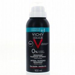 VICHY HOMME Déodorant 0% Spray  de 100 ml