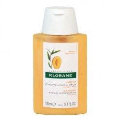 KLORANE CAPILLAIRE Shampooing au beurre de mangue Flacon de 100 ml