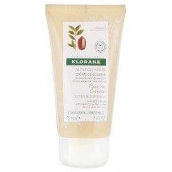 KLORANE Crème de douche au beurre de Cupuaçu bio Peaux sèches à très sèches Tube de 75 ml